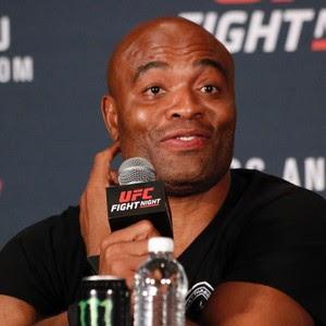 Anderson Silva Coletiva UFC (Foto: Evelyn Rodrigues)