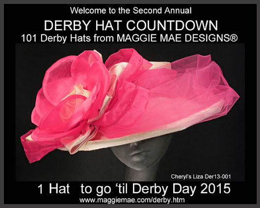 MAGGIE MAE DESIGNS® Derby Hat Countdown - 1 of 101