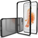 Luvvitt Clear View Hybrid Case for iPhone 7 Plus and 8 Plus - Black