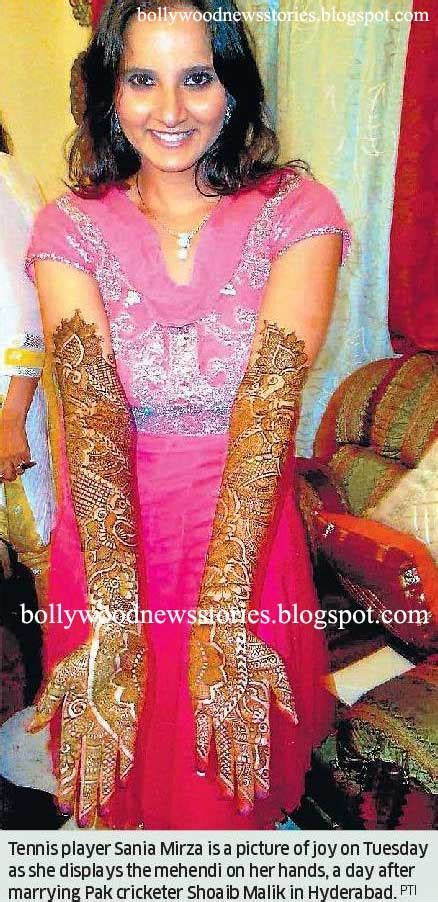 Latest News: Sania Mirza Mehndi Pictures, View Photos and