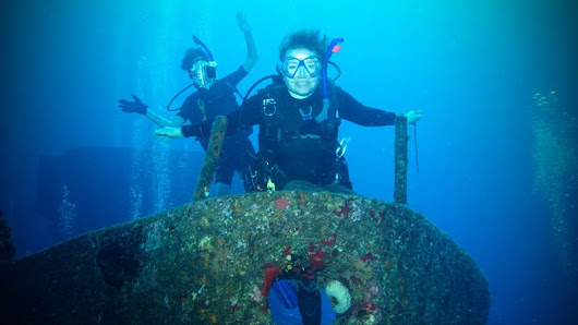 Not just a boy's club - Women Scuba Divers make a big splash