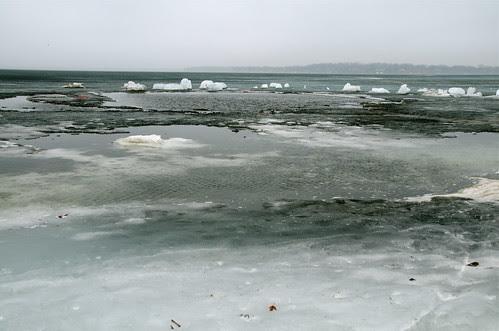 That Dark Gray the Precedes Open Water