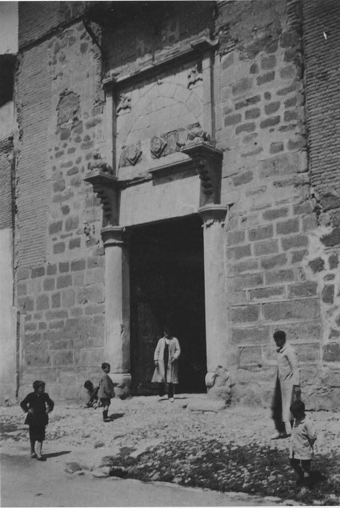 Palacio de Fuensalida hacia 1915. Fotografía de Arthur Byne