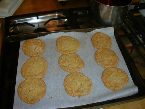 Oatmeal crunchies.