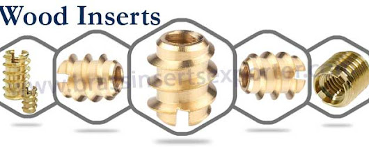 Brass Wood Inserts | Wood Fit Inserts | Brass Inserts For Wood And Clipboard