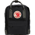 Fjallraven Kanken Mini Backpack - Black Striped