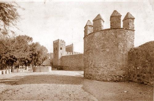 Murallas de Toledo, zona de Recaredo.