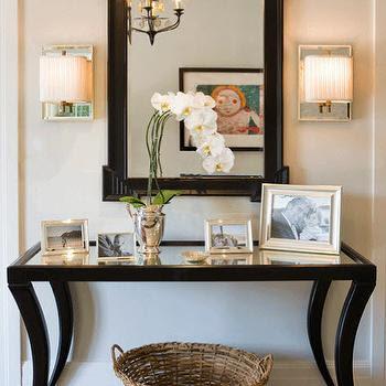 mirrored-foyer-table - Design, decor, photos, pictures, ideas ...