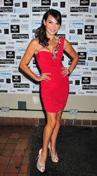 Mega Upskirt: Lizzie Cundy Upskirt No Panties At Embassy Club