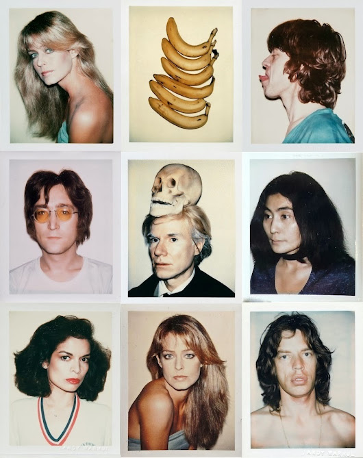 Andy Warhol Polaroids, Vintage Italia | Vintage t-shirts, wallpapers and more