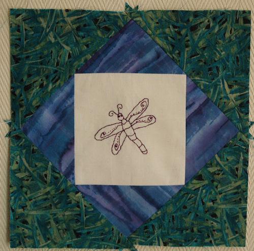 dragonfly :: øyenstikker : mønster fra Norsk Quilteblad #2-09