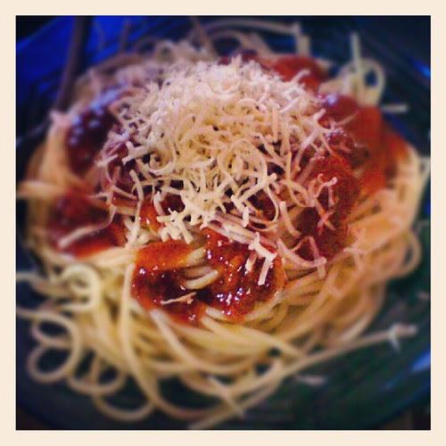 spaghetti lezat. by blogger.penajam