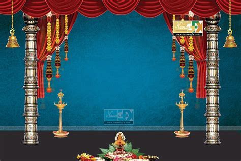 stage backdrop ideas for vinayaka chaturthi and durga
