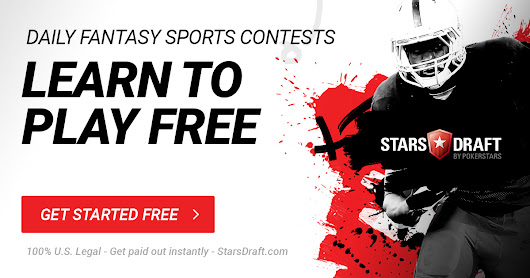Daily Fantasy Sports — Win free cash with no risk! • StarsDraft