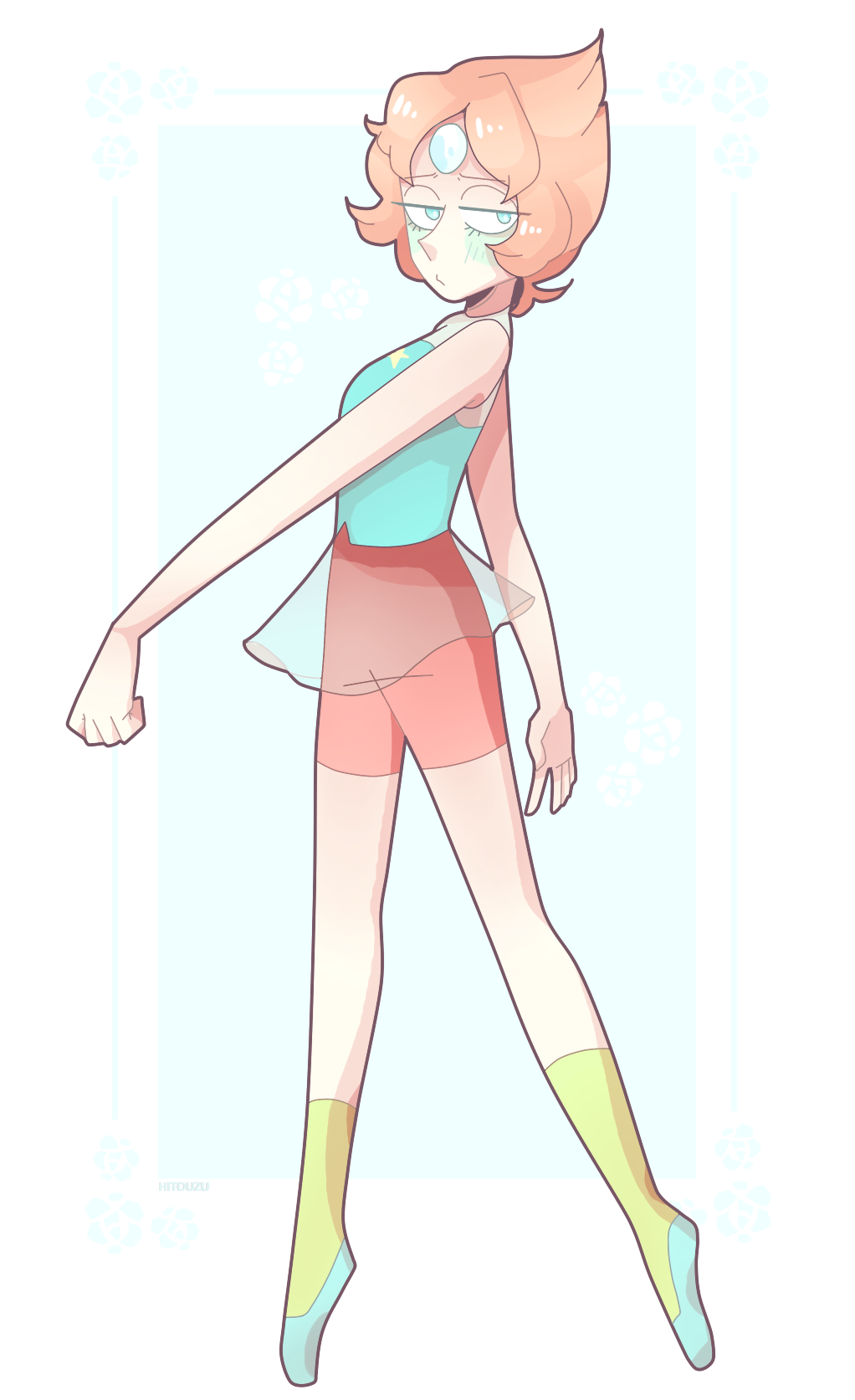 i recently caught up with steven universe ( i didnt watch it since 2016 i think? ) and i forgot how much i loved pearl!