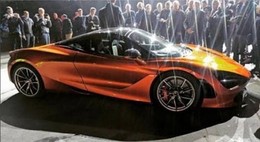 Is This The Upcoming McLaren 720S? | car News @ Top Speed