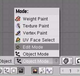 Mode menu
