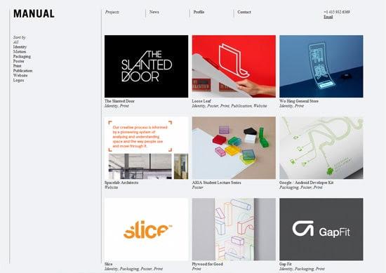 10 Minimalist Portfolio Websites