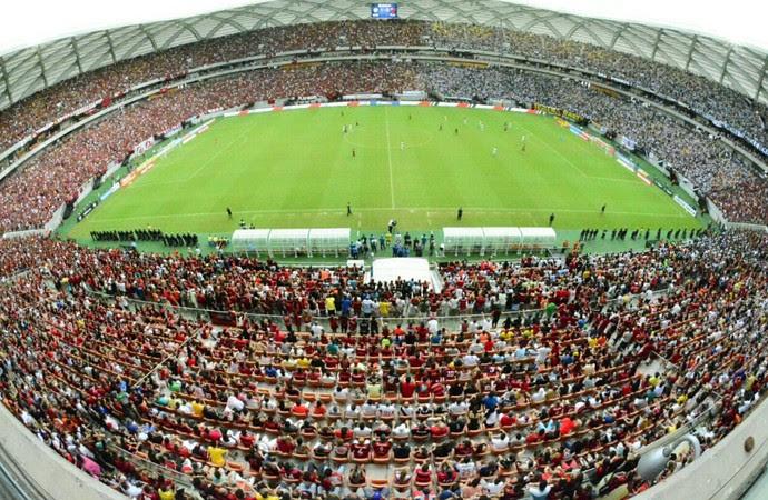 Arena da Amazônia - Flamengo x Vasco (Foto: Antônio Lima/Sejel)
