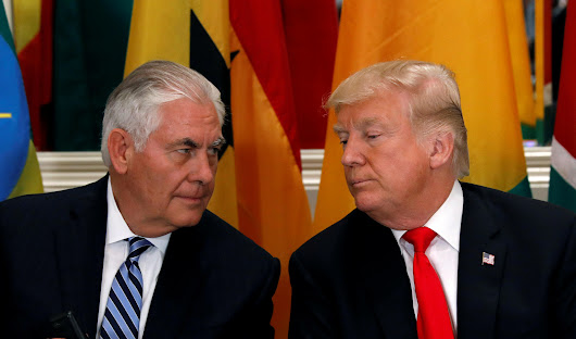 "Trump says ""we'll see"" if Tillerson lasts the full term - CBS News"