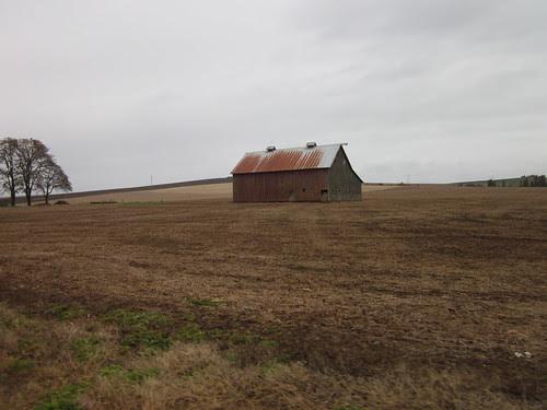 Red barn, Howell Prairie Road