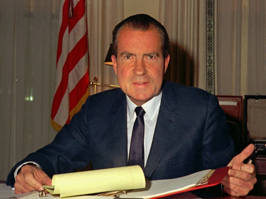 Nixon's Justice Department warned that the president can't pardon himself