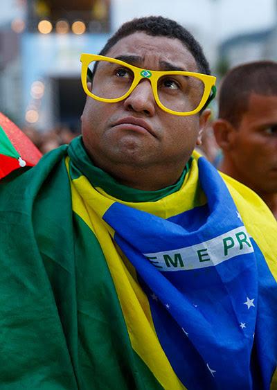 Brazilians in shock: sport