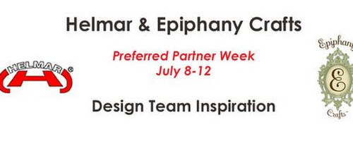 Getting my flair on with Epiphany Crafts! - Helmar Design Team