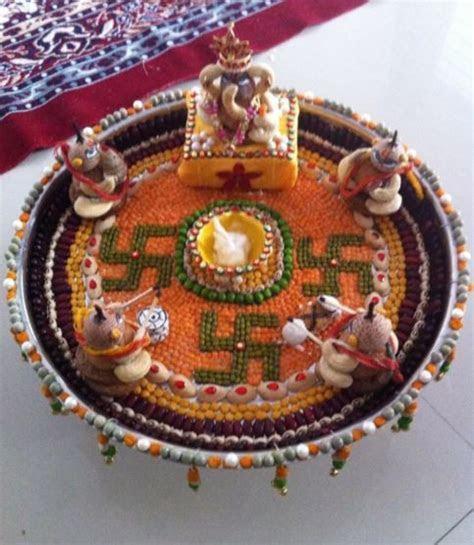 46 best Aarti Thalis images on Pinterest   Diwali