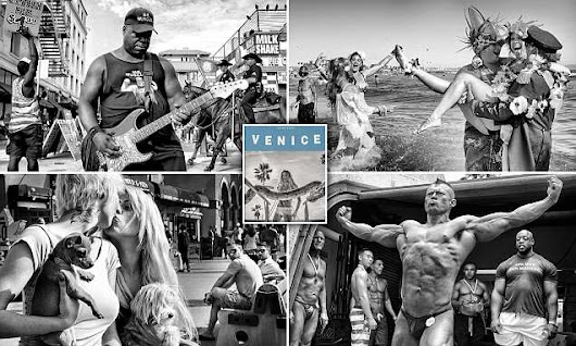 Photographer's stunning images show unrivaled history of Venice Beach