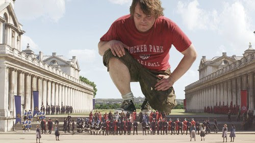 jackblack in GULLIVERS TRAVELS