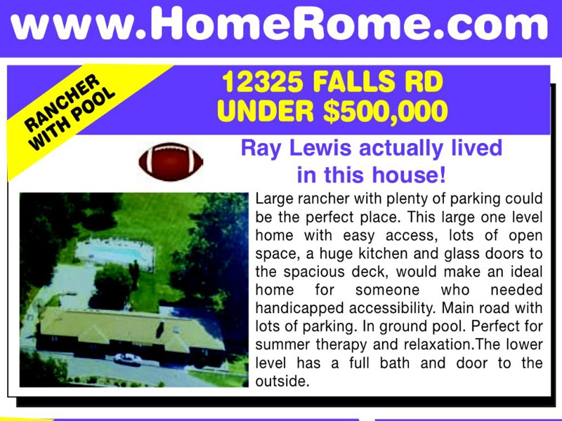 Ray Lewis Lived Here