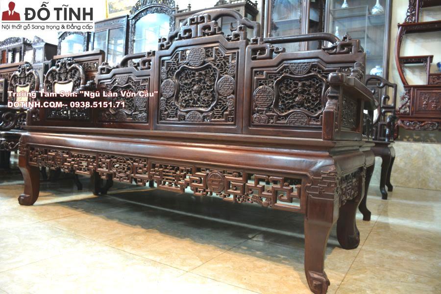 mẫu trường kỷ Tam Sơn đẹp nhất 2017