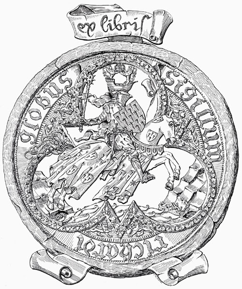 Bookplate of Richard Globe
