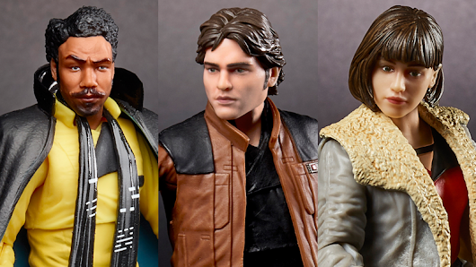 Exclusive: Here Are the First Solo: A Star Wars Story Action Figures, and Lando Is a Masterpiece