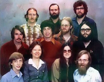 December 7, 1978: Microsoft Staff Picture