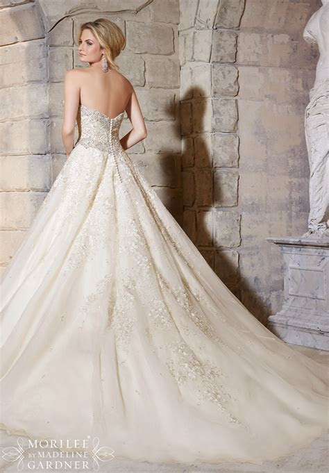 Mori lee 2791 wedding dress   Catrinas Bridal