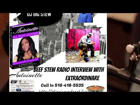 Extraordinaire radio interview with Big Stew Radio with music videos