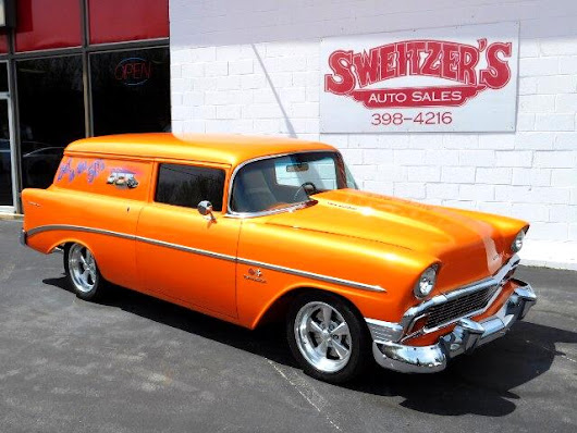 Used 1956 Chevrolet Sedan Delivery  for Sale in Jersey Shore PA 17740 Sweitzer's Auto Sales