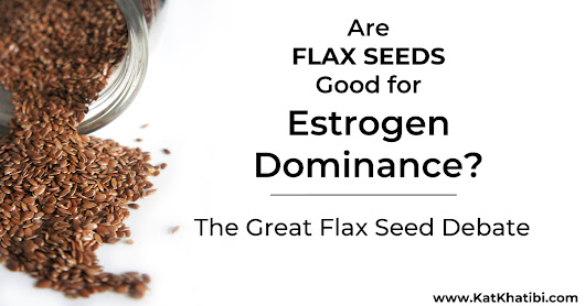 Are Flax Seeds Good For Estrogen Dominance? The Great Flax Seed Debate - Healthful Gypsy - by Kat Khatibi