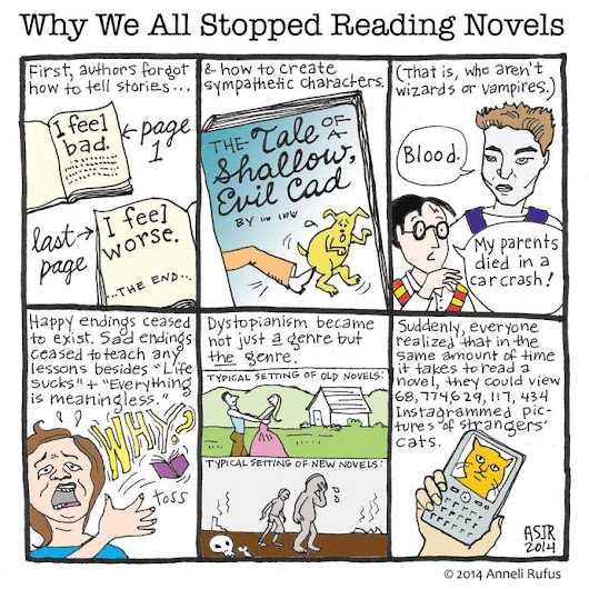 Who Reads Novels Anyway
