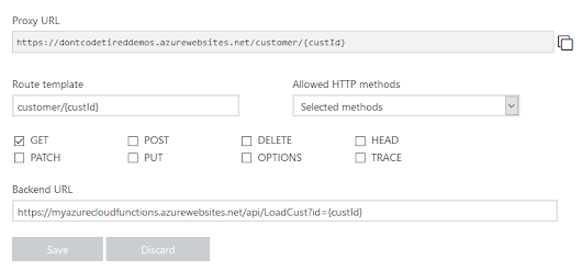 Don't Code Tired | Cross Function App Proxies and Proxy Request Parameters in Azure Functions