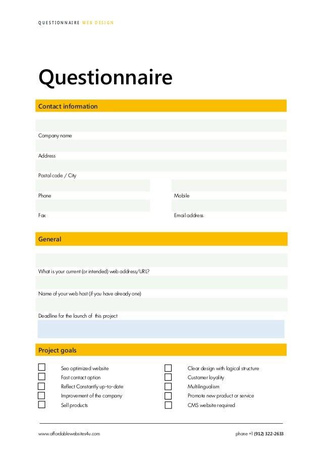 affordable websites4u web design questionnaire 6 638