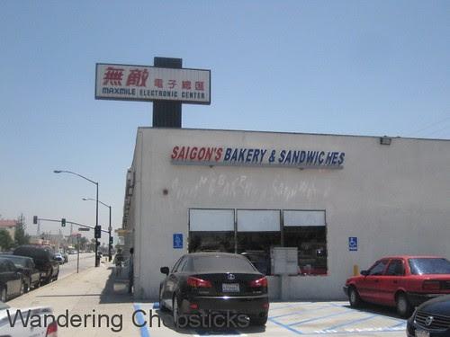 Saigon's Bakery and Sandwiches - San Gabriel 1