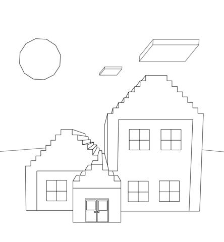 Dibujo De Caballo De Minecraft Para Colorear Dibujos Para Colorear