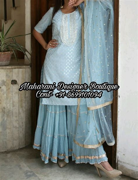 Buy Designer Sharara Suits Online   Maharani Designer Boutique