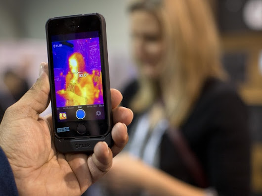 The $349 FLIR One case turns your iPhone into a thermal camera | NDTV Gadgets