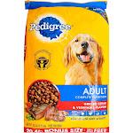 Pedigree Food for Dogs, Grilled Steak & Vegetable Flavor, Adult, Bonus Size - 20.4 lb