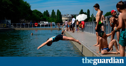 Paris plunge: daily queues after city opens cleaned-up canal to swimmers | Cities | The Guardian