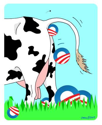 Image result for OBAMA WITH DUNG IN HIS MOUTH